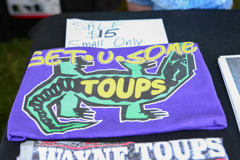 05-03-2015 - Wayne Toups Band Merchandise - Pensacola Crawfish Fest #1