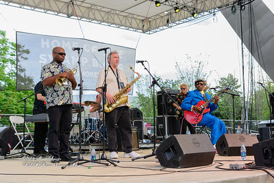04-09-2016 - Walter Wolfman Washington & The Roadmasters - Baton Rouge Blues Festival #2