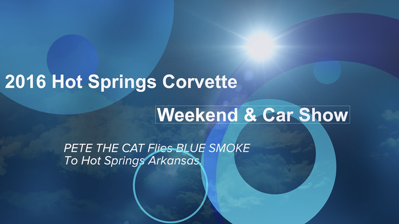 Pete The Cat Flies to Hot Springs