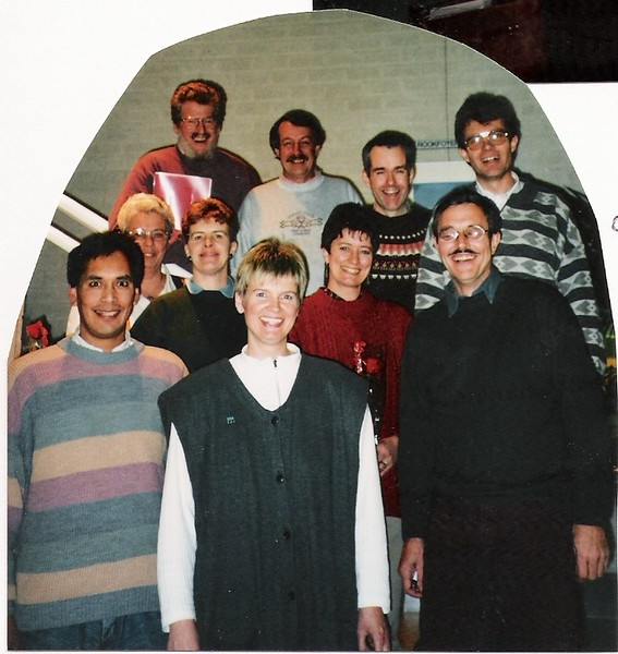 geslaagden dirigentenopleiding 1995