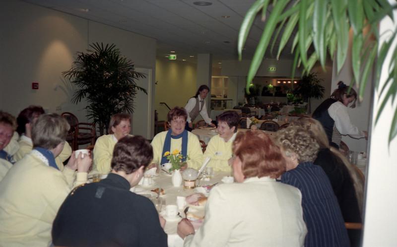 aantal SCBG-leden tijdens conventie 1997