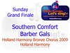 Southern Comfort Barber Gals