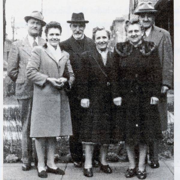 Chichu Kirs, Diana Jordanoff, Bishop Andrej, Jean Pavloff, John Costoff