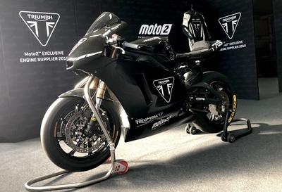 2019 Triumph Moto2 Engine Testing At Aragon