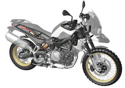 Photo Set - BMW F 750 GS und F 850 GS. Technische Details