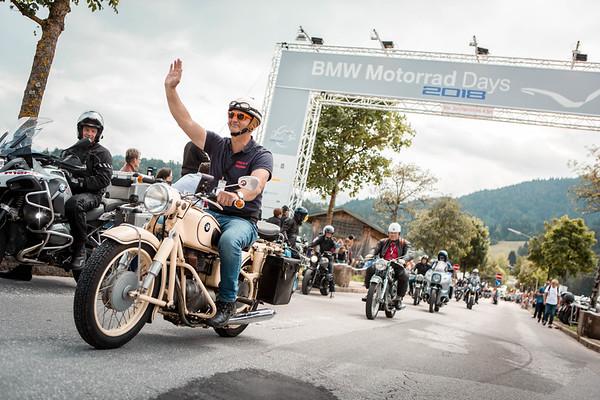 Photo Set - Die 18. BMW Motorrad Days in Garmisch-Partenkirchen von 6. – 8. Juli 2018.
