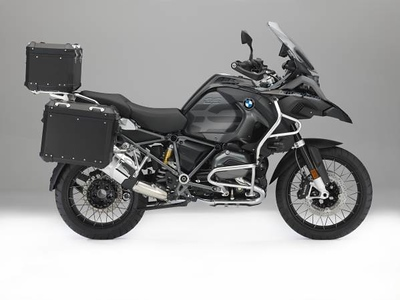 Photo Set - New Original BMW Motorrad Accessories 'Edition Black'. An elegant touch to the BMW R 1200 GS and R 1200 GS Adventure
