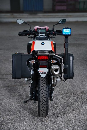 Photo Set - The BMW F 750 GS for emergency services