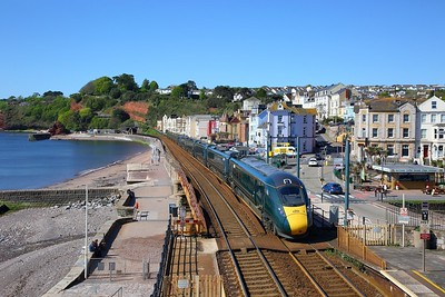 802019+802021 on the 1A78 0651 Penzance to London Paddington at Dawlish on the 11th May 2019