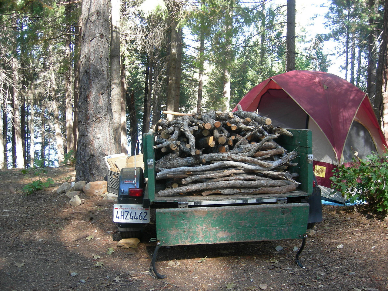 The ample supply of firewood was provided by Tuco Harris.