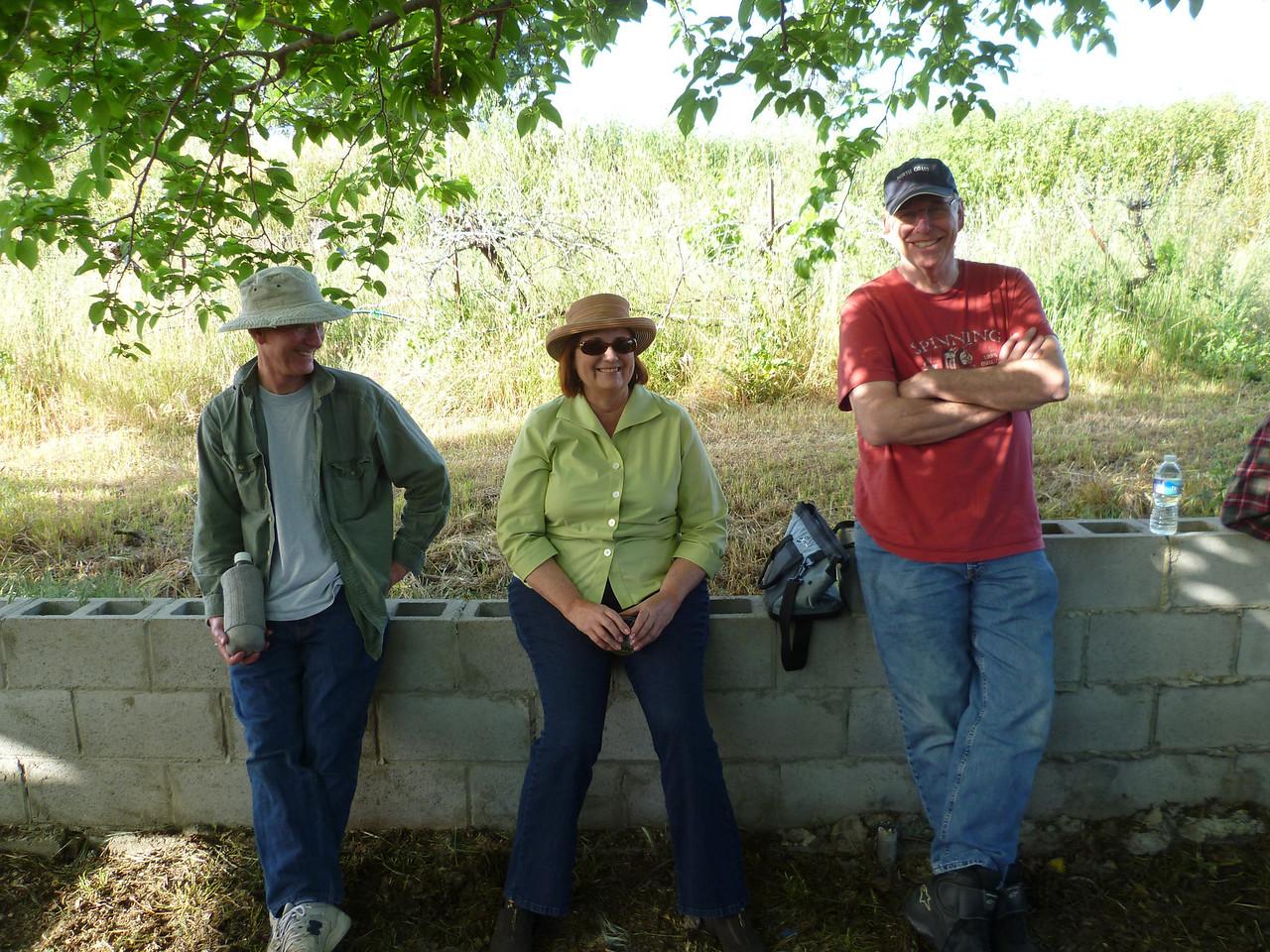 Rick Webb, Catherine Marshall & David Halliwell.