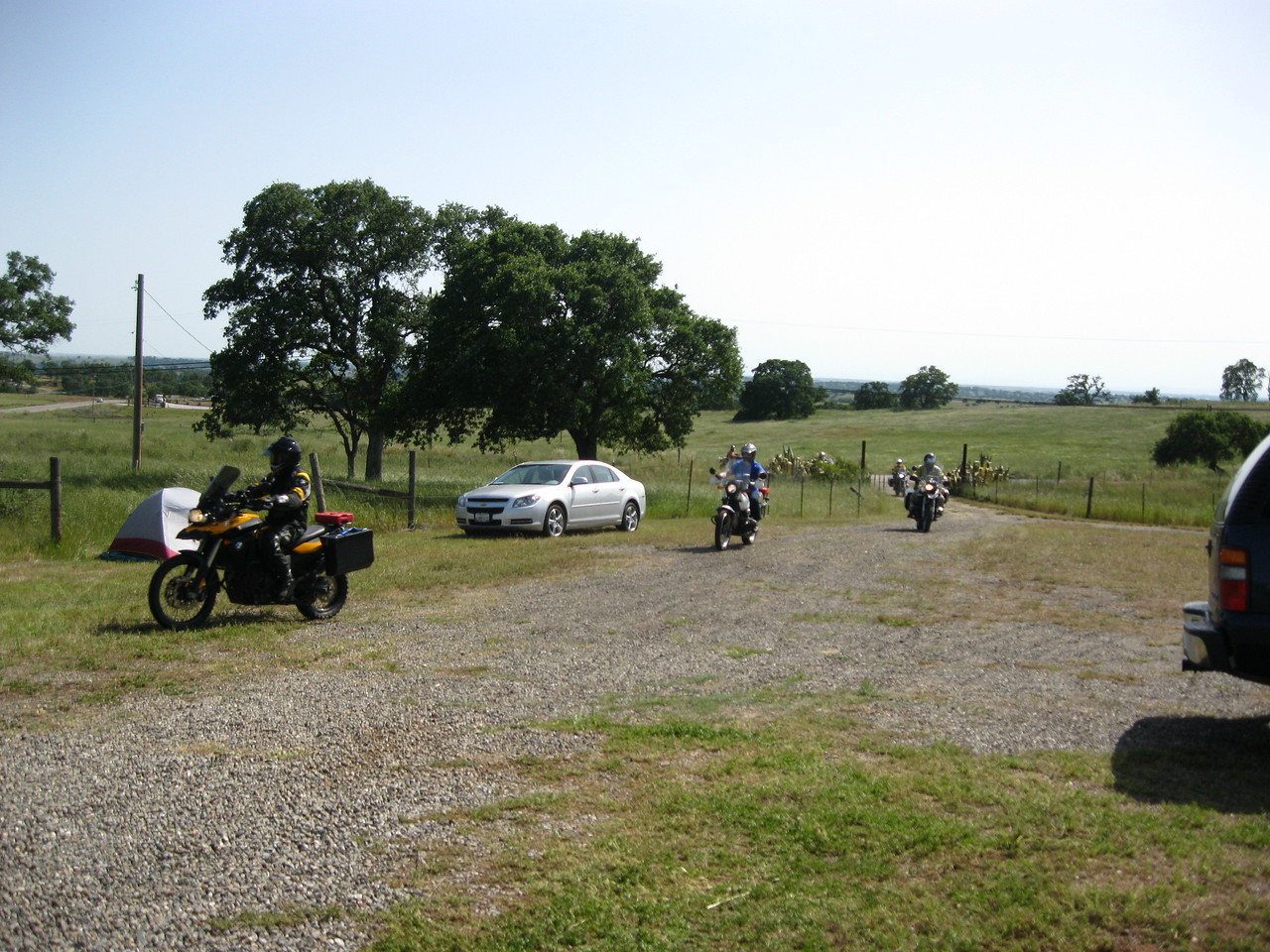 The GS Tour returns to the campground.