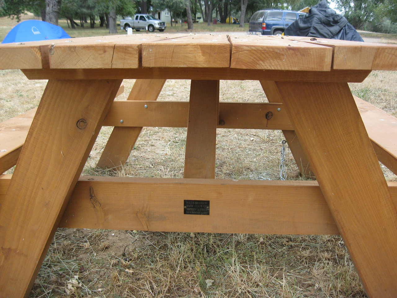 This lovely pic-nic table was handcrafted by Tuco Harris and donated on behalf of Norcal.