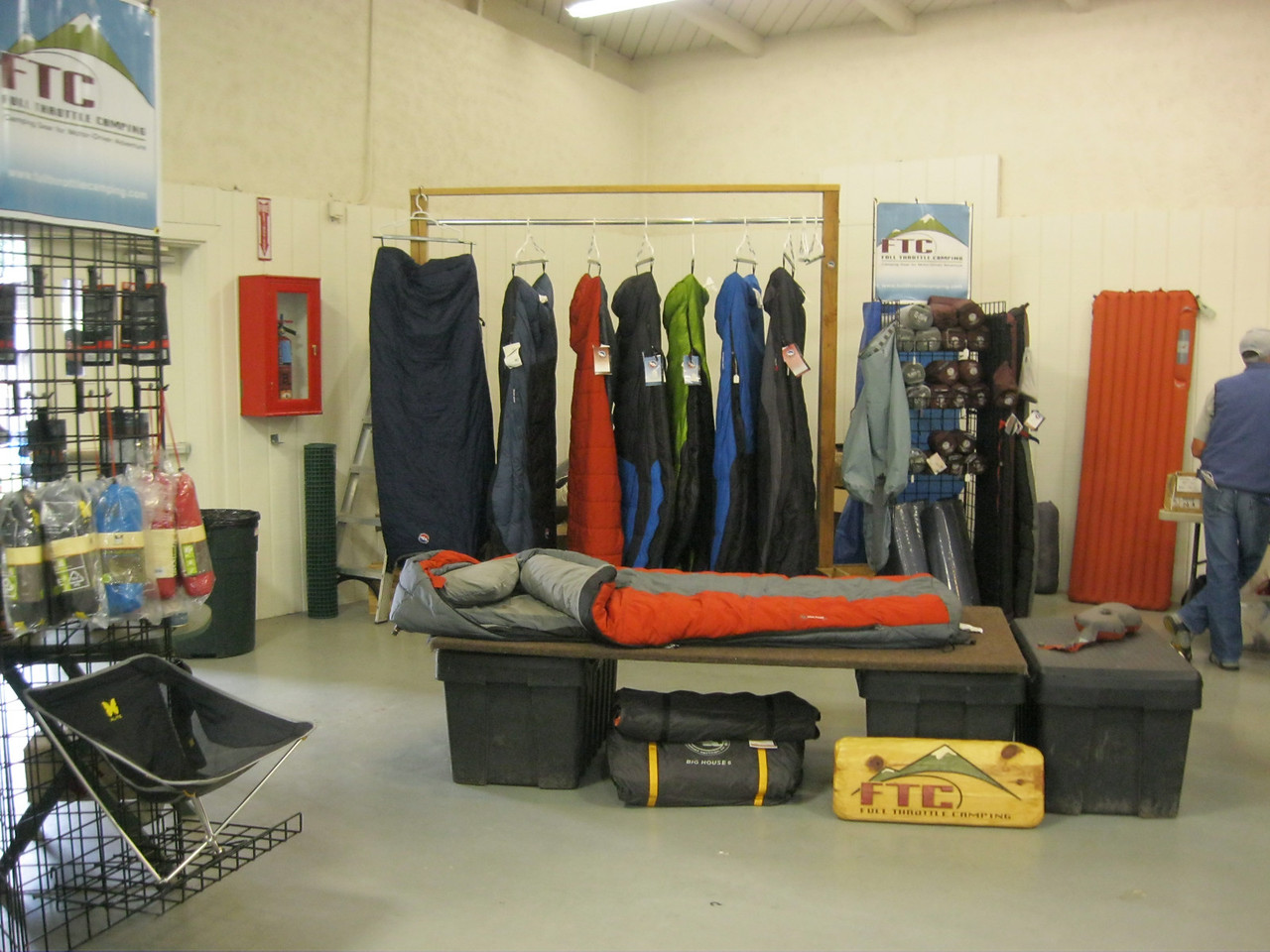 Full Throttle Camping provides an assortment of top quality camping gear.