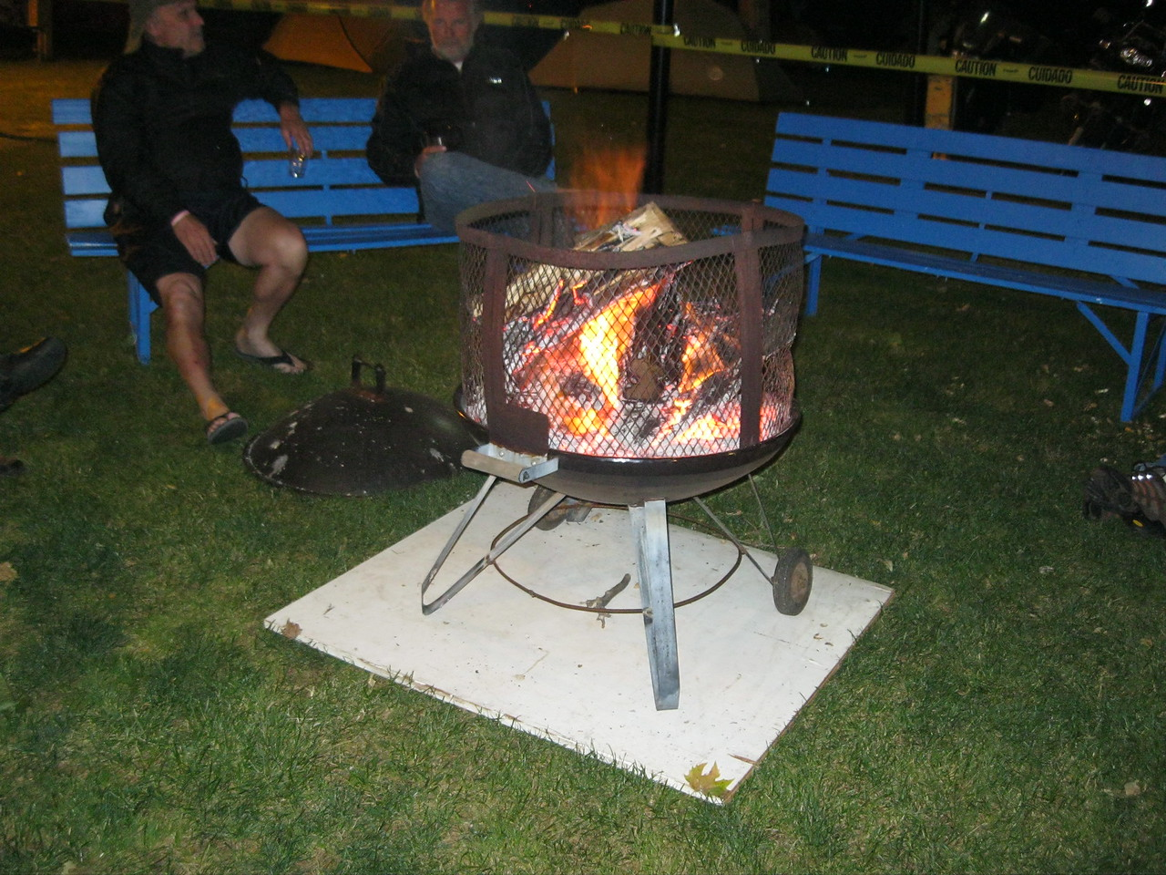 2012 49er  Mariposa<br /> YES, we had a fire pit at the 49er Rally!