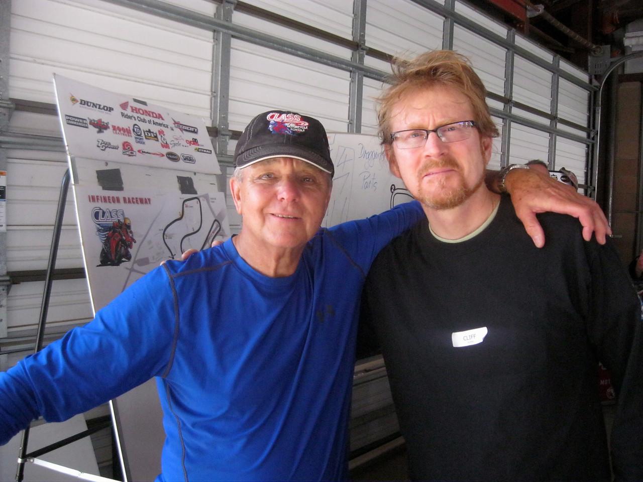 Cliff Dunn & Reg Pridmore