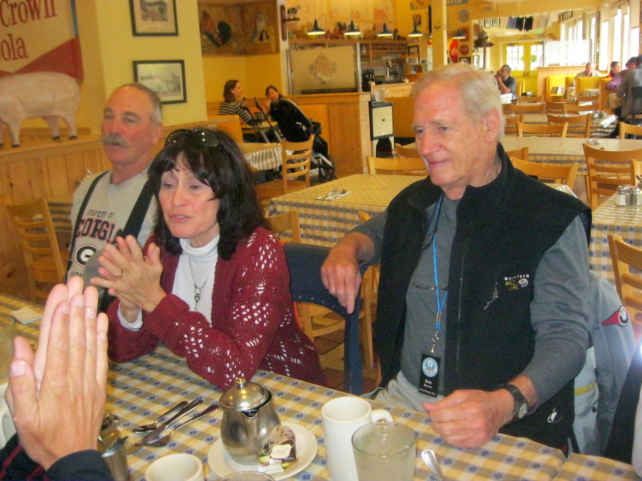 Jim Irving, Barbara Garfien and Robert Berner.