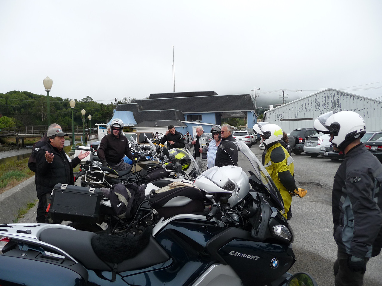 The Ride Briefing