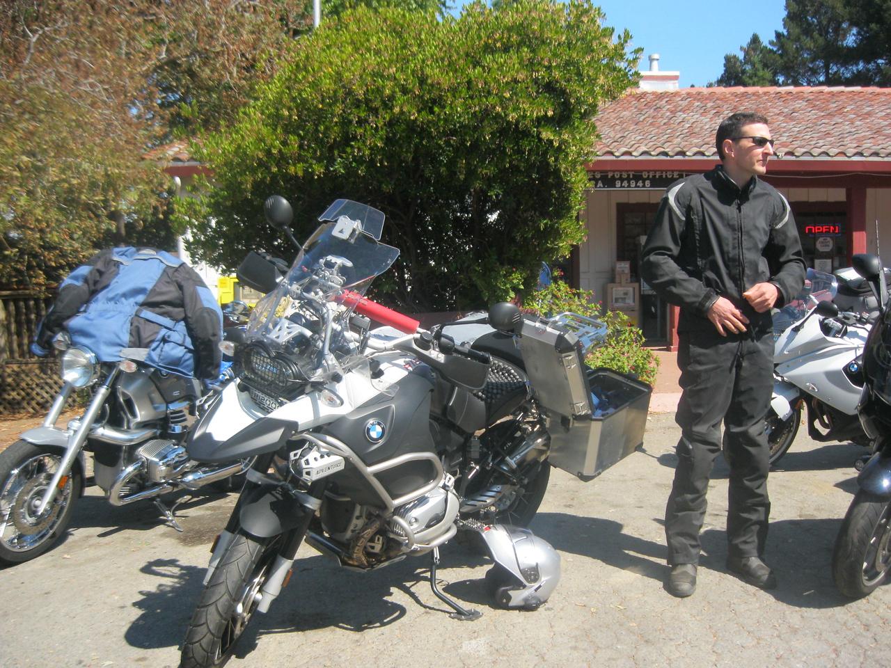 Paul Boco and his R1200GSA