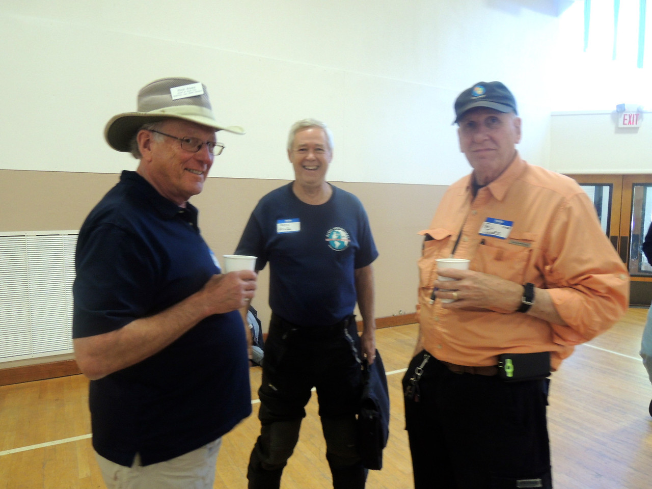 Rich Alves, Russ Drake and Phil James.