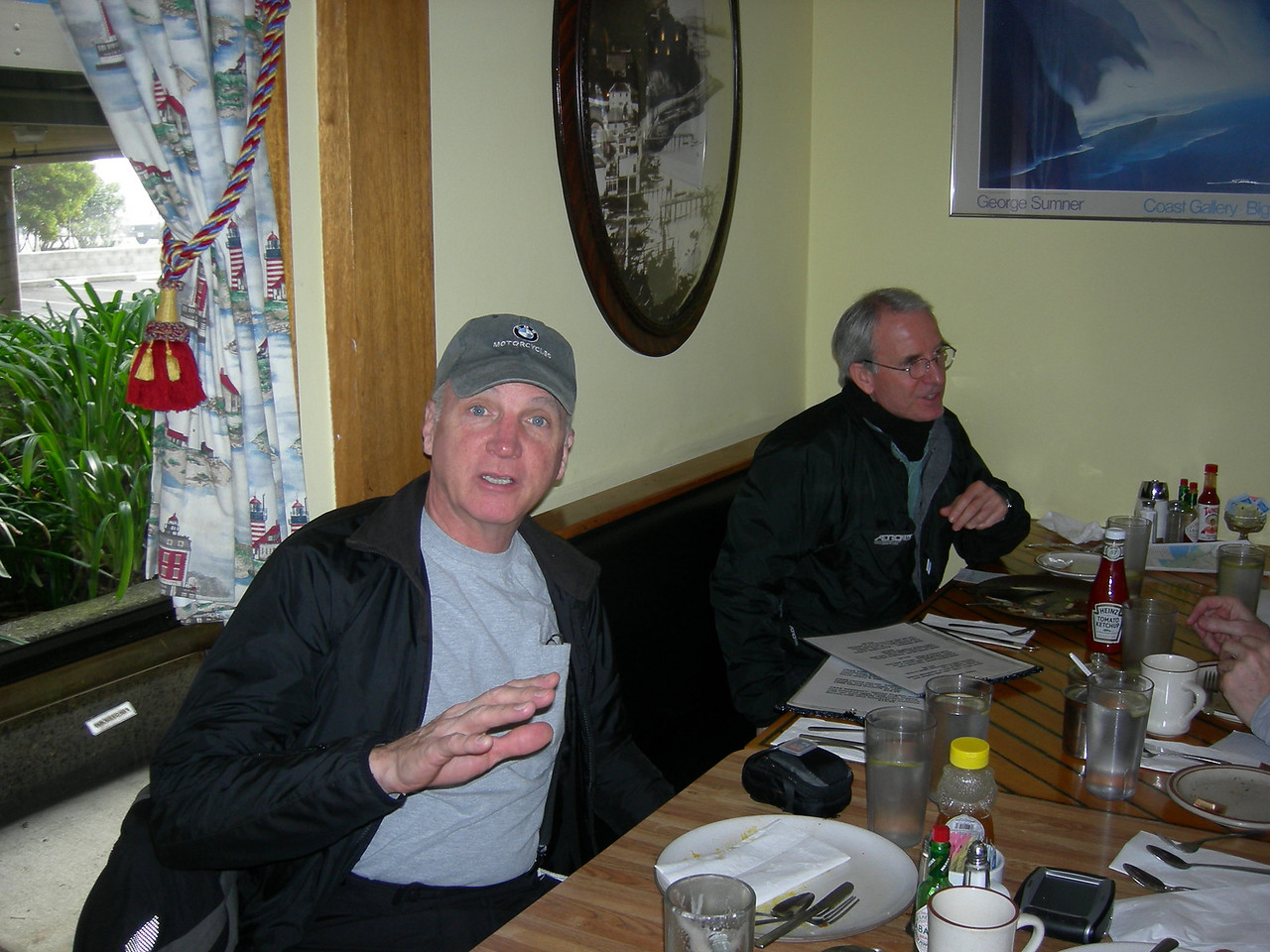 Lee Blake, Safety/Tech officer, 2nd Sunday organizer extraordinaire! Rick Webb.