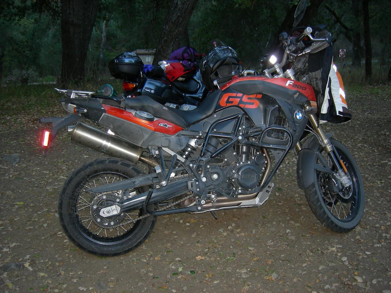 2010 F800GS.