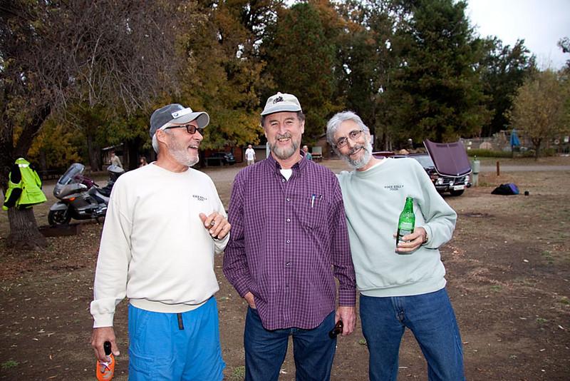 Tom Harris, Gene Austin & Bruce Schadel