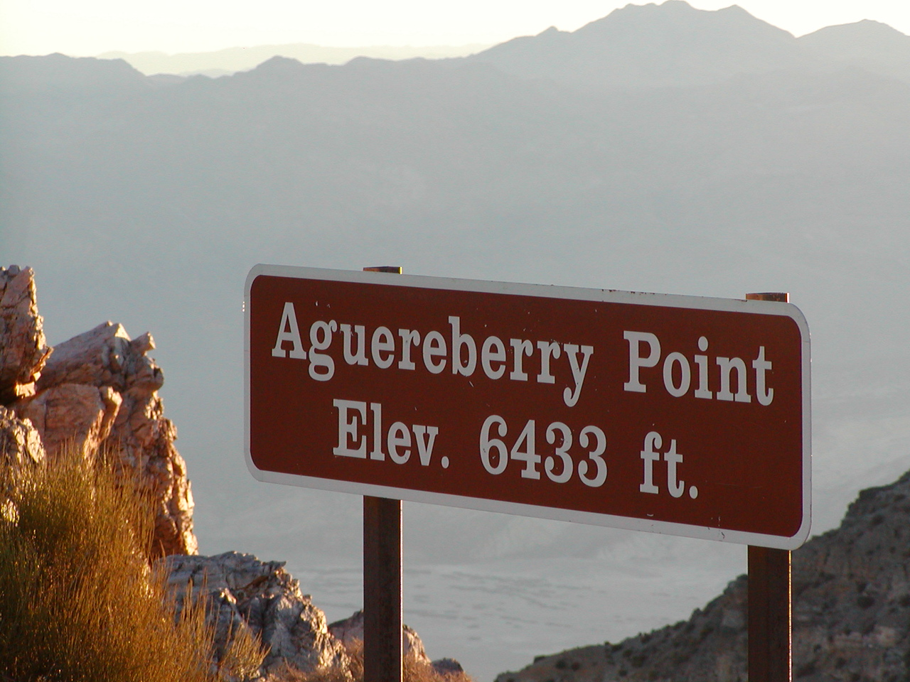 Aguereberry Point at dawn