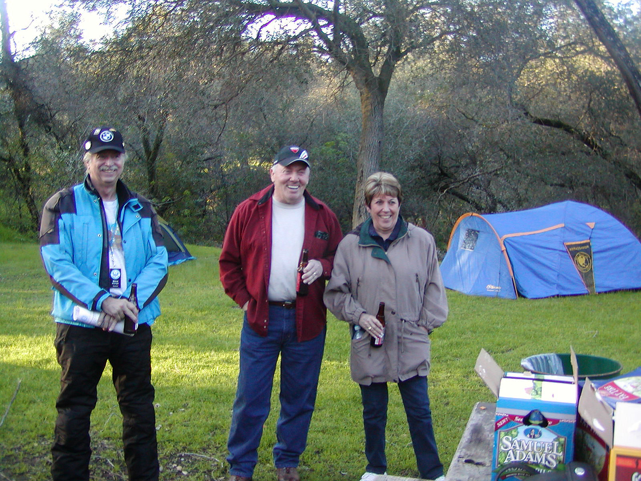 Steve Kessinger, guests  Mike & Linda Miller