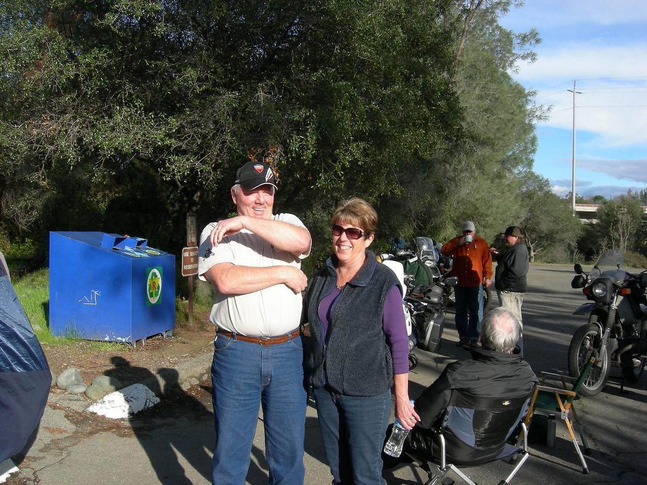 Guests Mike&Linda Miller.
