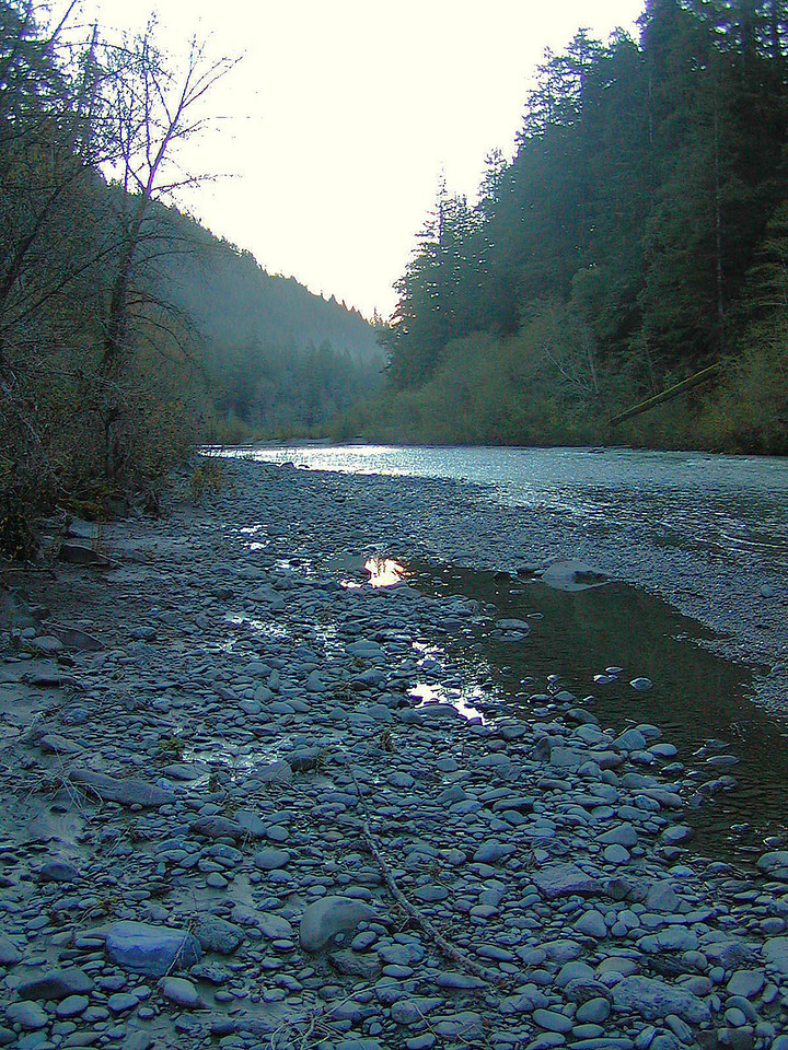 Grizzley Creek early in the morning