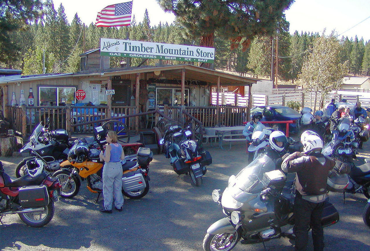The Timber Mountain Store was a little busy too.