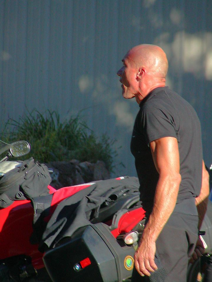 Rider at Yreka