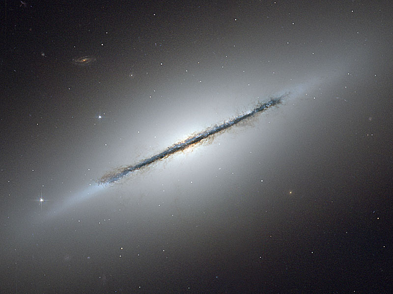 Edge-on galaxy NGC5866....OK so I didn't take this photo. It is representative of what you could have seen if you'd gone to the Shingletown Star Party on Saturday night after the election meeting. Awesome! and it was free.