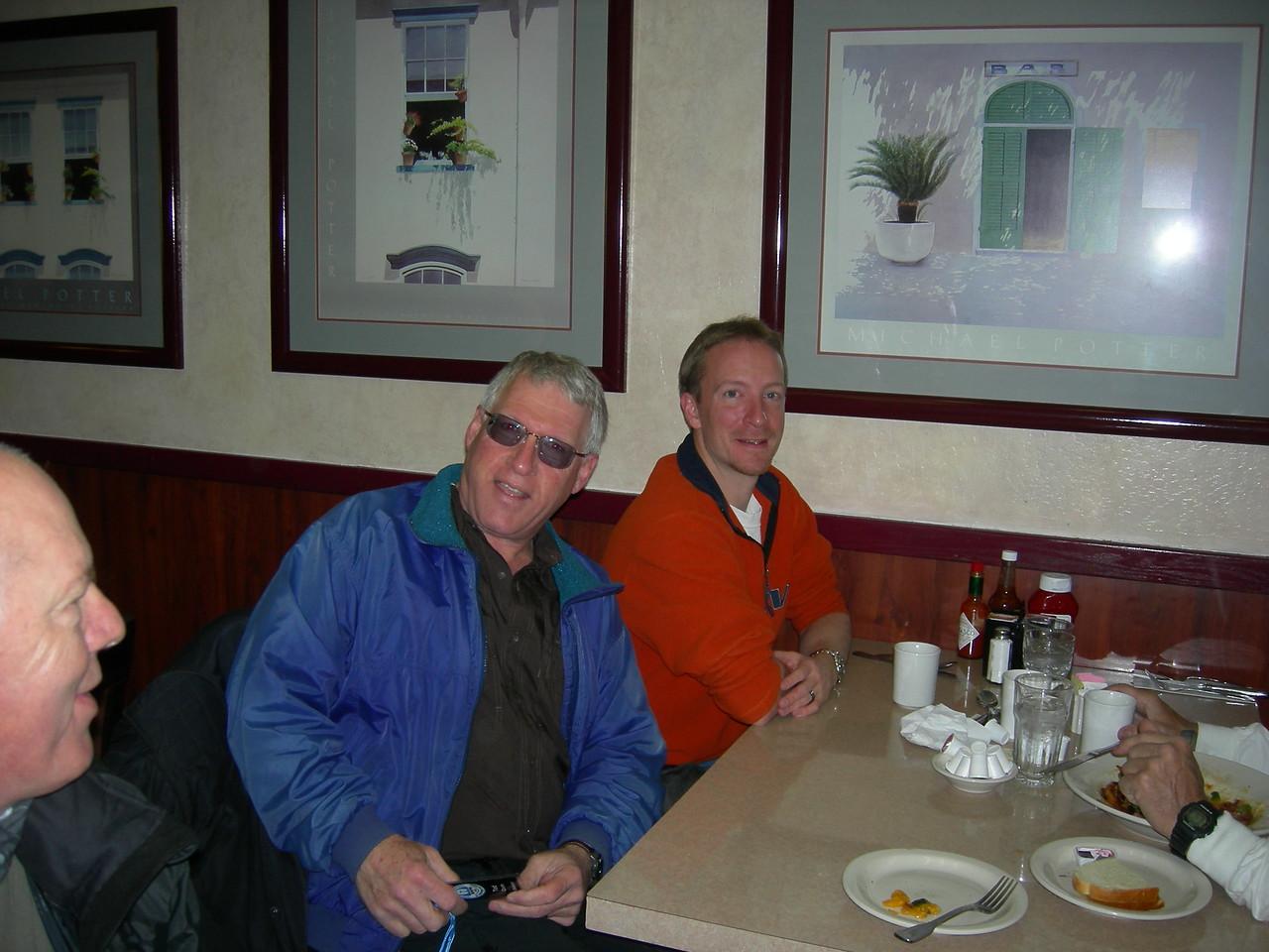 Les, Ted & Warren.