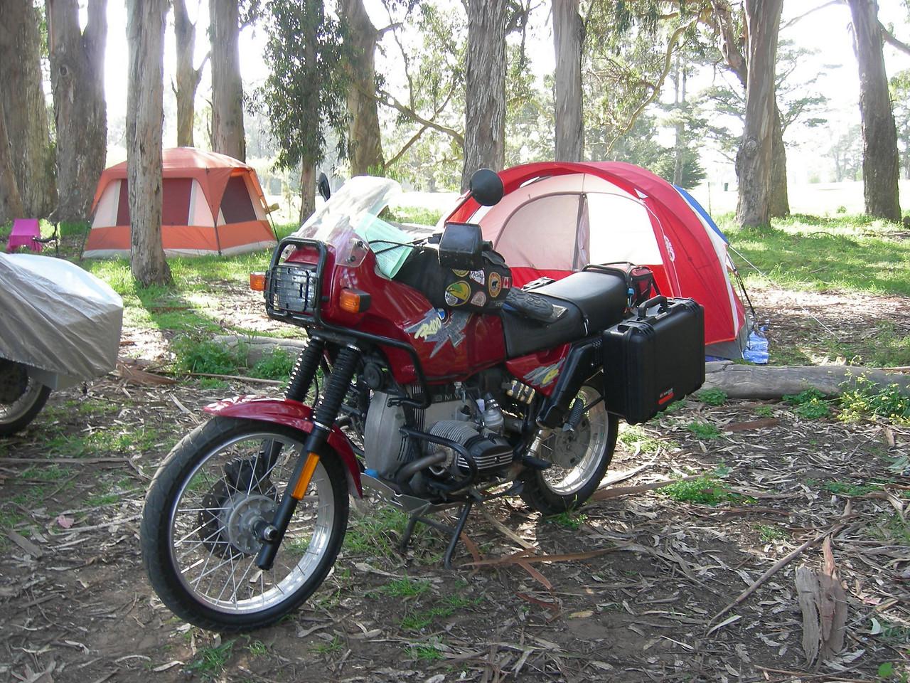 """Tuco"" Harris has new saddlebags."