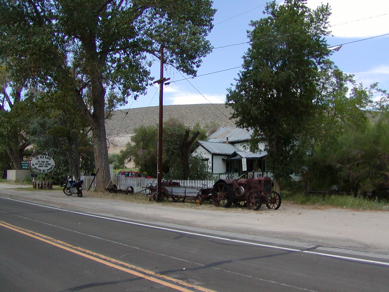 The Old House at Benton Hot Springs