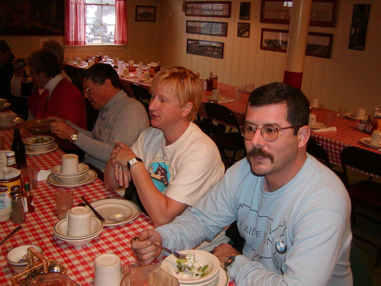 (R to L) Steve Palmer, Michelle Palmer, and Rick Klain