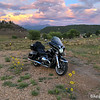BMW R18 Transcontinental - Clouds and Flowers
