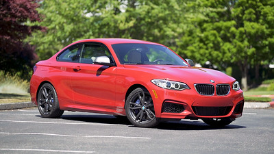 2017 BMW M240i xDrive Coupe Parked Reel