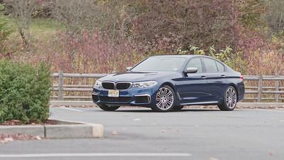 2018 BMW 550i xDrive Parked Reel