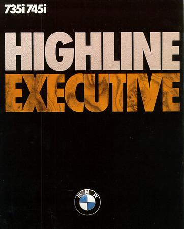 Executive/Highline Brochure