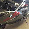 Item 1007 or 1008 on a BMW K1300