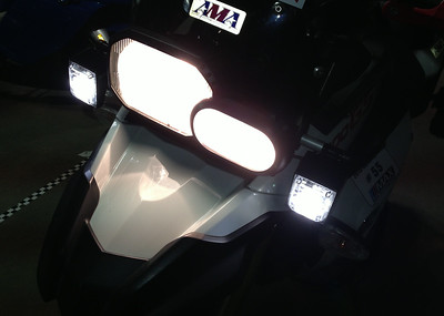 F800GS Takedown Lights