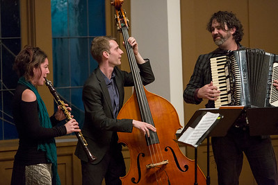 New Moon Trio Photo: Kevin Fryer