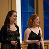 Laura Gaynon and Allegra Chapman '10<br /> Photo: Kevin Fryer