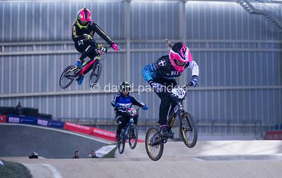 HSBC UK BMX National Series Rounds 1 & 2, UK National Cycling Centre, Manchester, ENGLAND