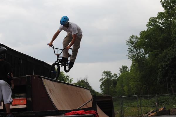 BMX Stunt Show in Lenox