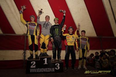 Podium Aarschot Flanderscup 18-10-2009