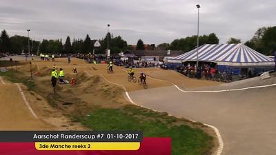 video Aarschot Flanderscup #7 01-10-2017  3de Manche